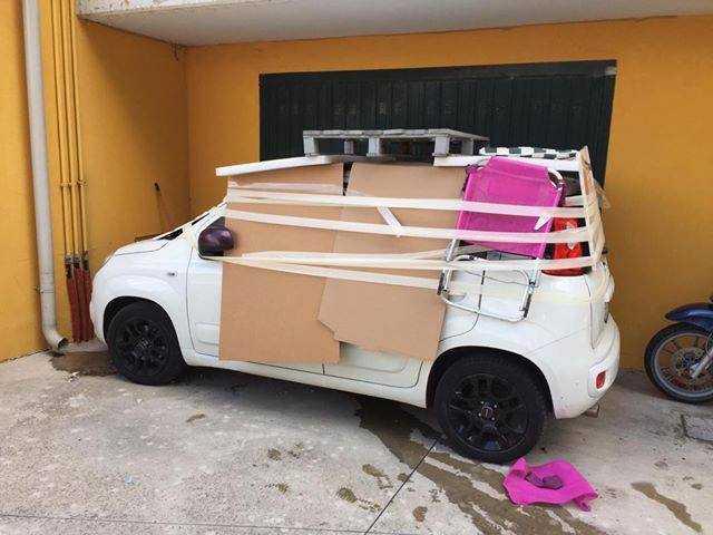 Maltempo: in Abruzzo è psicosi grandine, materassi su auto