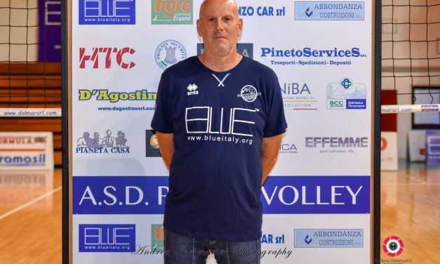 Pineto Volley, Dario Da Roit entra nella grande famiglia Blueitaly