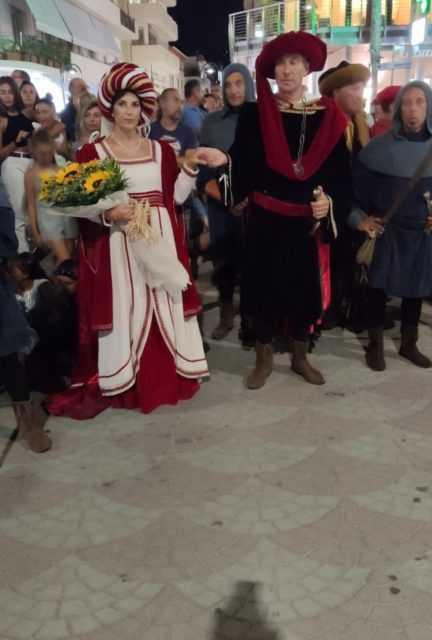 Tortoreto, aperta la XIX edizione del Palio del Barone: consegnato il 19° Drappo della vittoria per la sfida del 16 agosto