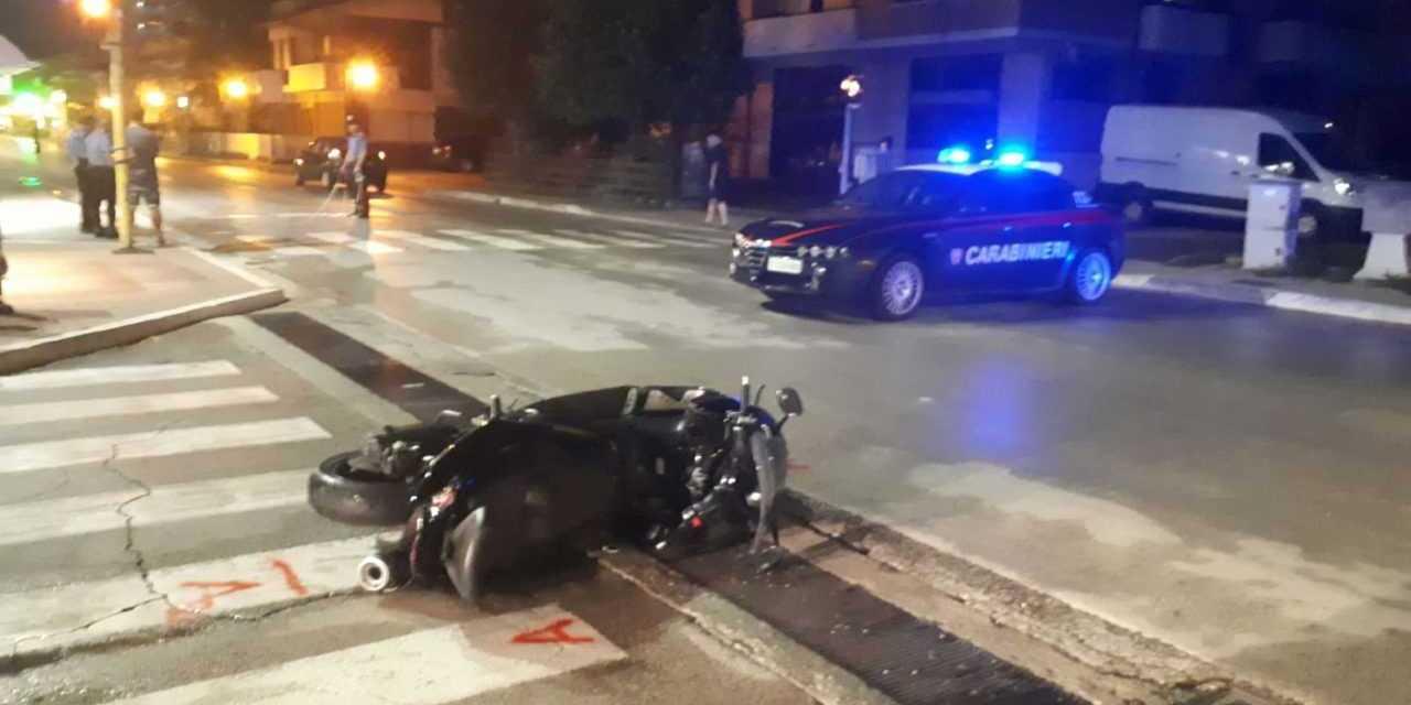 FOTO | Drammatico incidente stradale a San Nicolò : grave centauro 48enne di Cologna