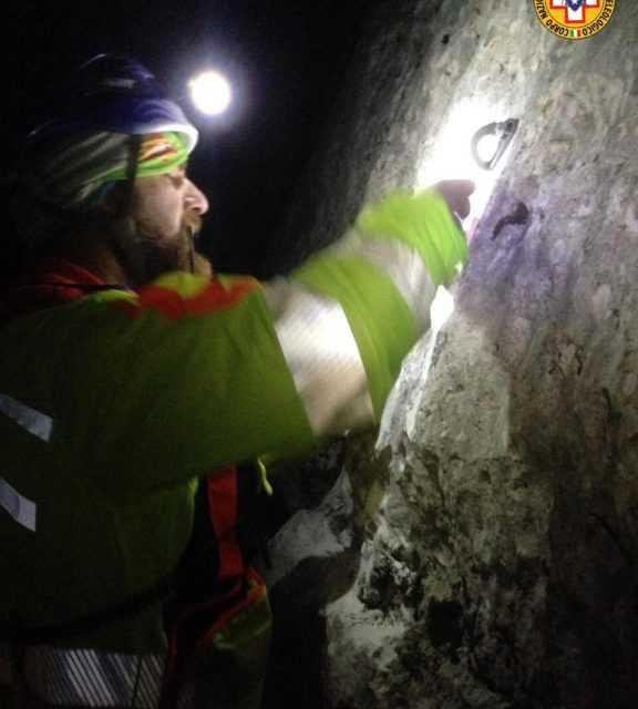 Gran Sasso, recuperati i 3 alpinisti rimasti bloccati durante la notte sul Corno Piccolo