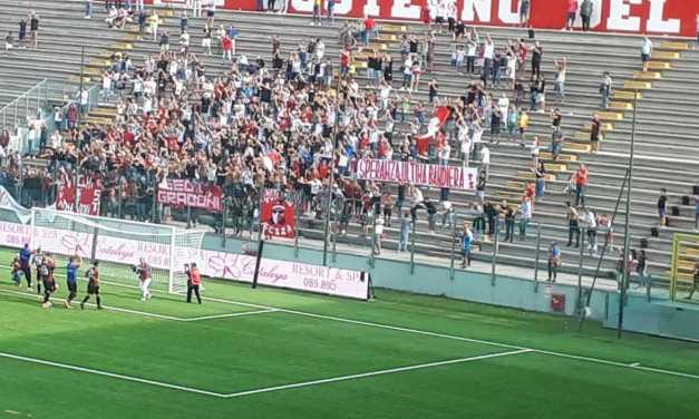 FOTO e VIDEO | Calcio C, il Teramo batte la Cavese (2-0) e si incammina sulla retta via: eurogol di Bombagi ed è festa per 3.000!
