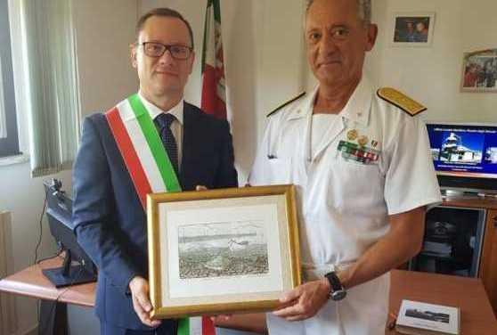 Roseto, in visita nella locale sede locamare il Comandante delle Capitanerie Giovanni Pettorino