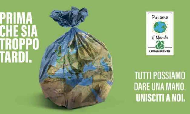 Legambiente, puliamo il Mondo sabato 21 settembre a Teramo
