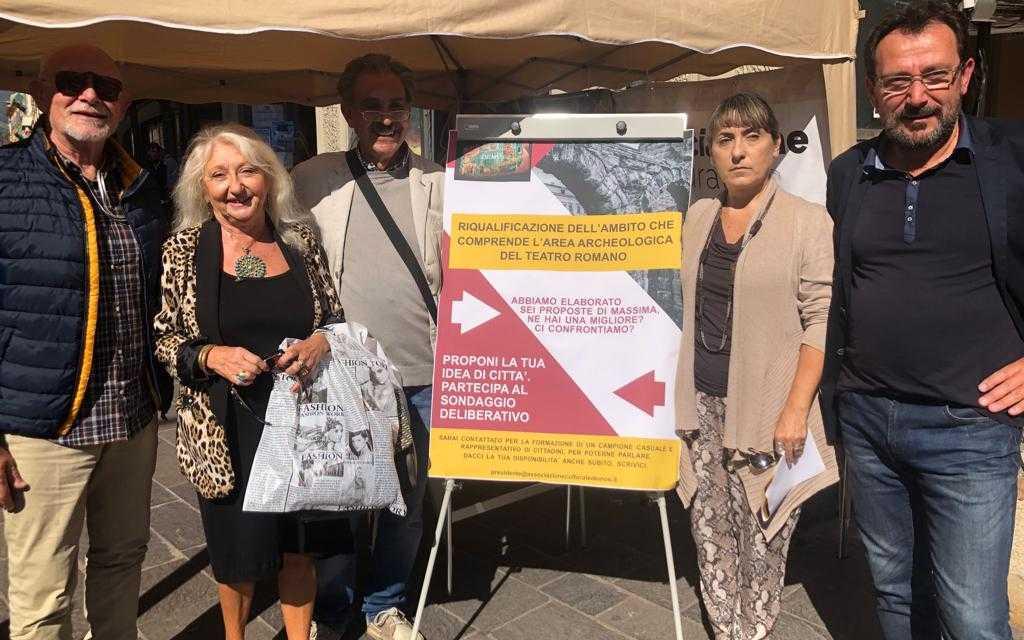 VIDEO | Teatro Romano, prosegue iter per Sondaggio Deliberativo: parte il corso per facilitatori