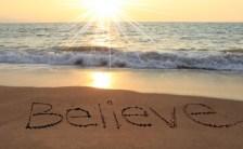 「不安」が生み出すマイナスパワーを取り除いたとき、「信じる」パワーが最大限に発揮される