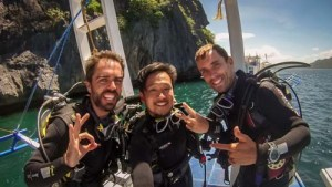 PADI Open Water course in El Nido with El Dive