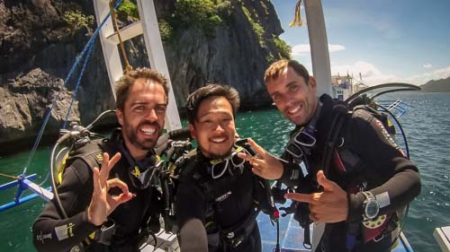 Post about the PADI Open Water course in El Nido, Palawan, Philippines