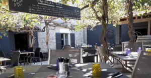 La terrasse du El gusanillo concept