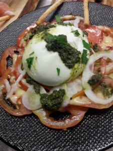 Assiette fraicheur El gusanillo concept