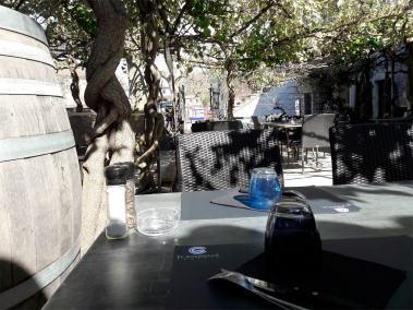 La terrasse El gusanillo concept