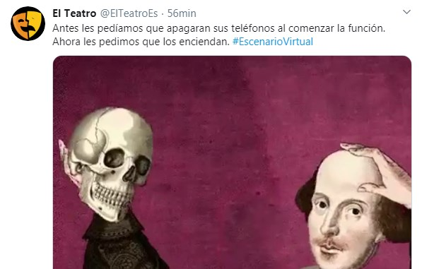 El silencio del teatro es una distopía aterradora