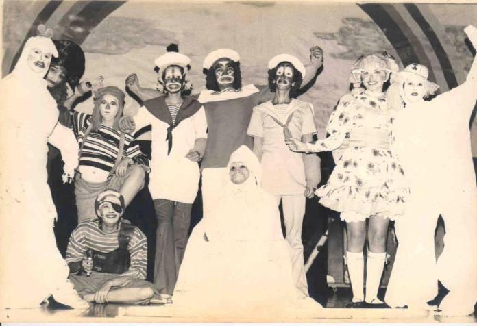 Pluft El Fantasmita fue el primer montaje de El Chichón representada el 7 de octubre de 1978