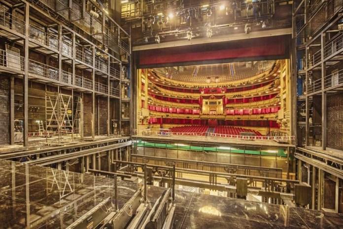 Teatro Real Backstage La gran parada