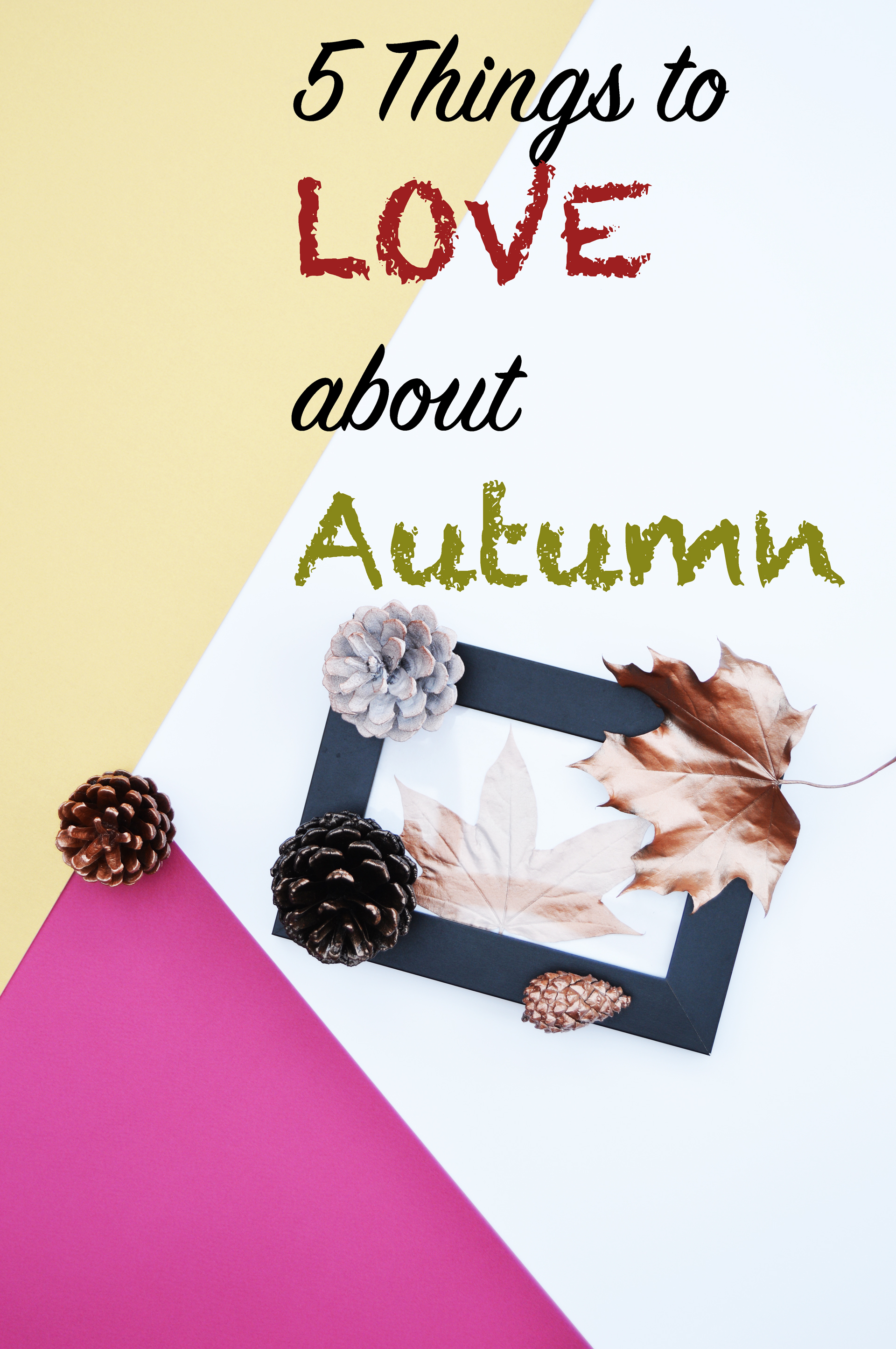 5 things to love about Autumn - Even though the weather might not be as warm as summer and days get shorter, however, the colourful nature and all the cosy night can make up to that.