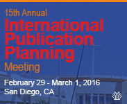 The 15th International Publication Planning