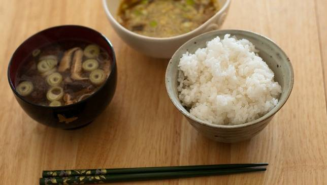 Japan-rice-miso-soup-natto