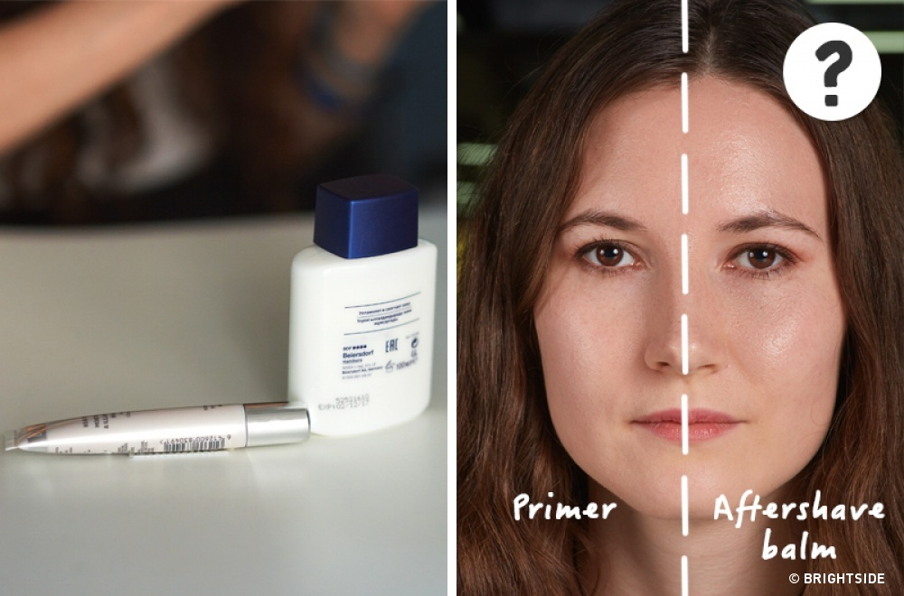 Acest truc îți poate face fața mai uleioasă, iar loțiunea de după bărbierit nu arată în mod extraordinar de diferit față de o bază obișnuită. Nu pare a fi o metodă de recomandat.