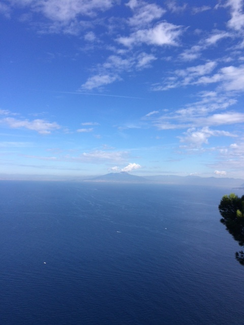 And the powerful volcano, Mount Etna, in the distance.