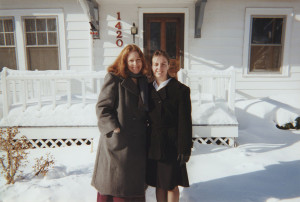 Bethany and I, a year before we knew about the cancer