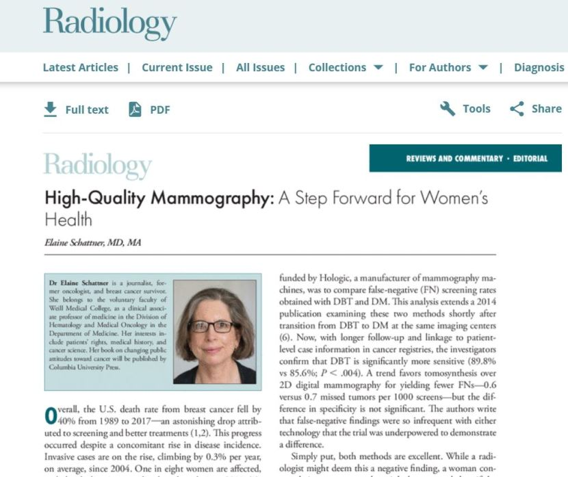 editorial, Dec 1, 2020 Radiology