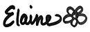 Elaine's signature