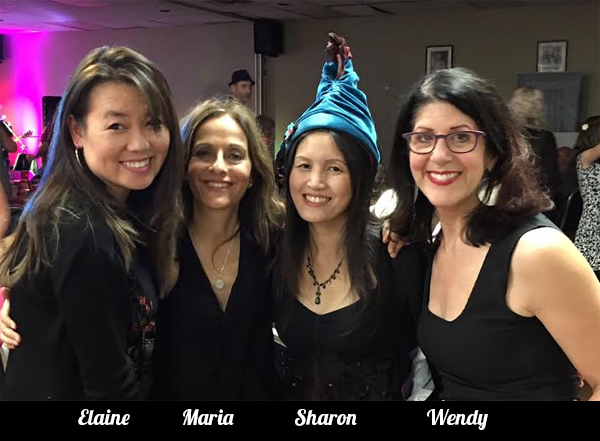 Elaine Tan Comeau, Maria Freeman, Sharon Chai, Wendy Armbruster-Bell