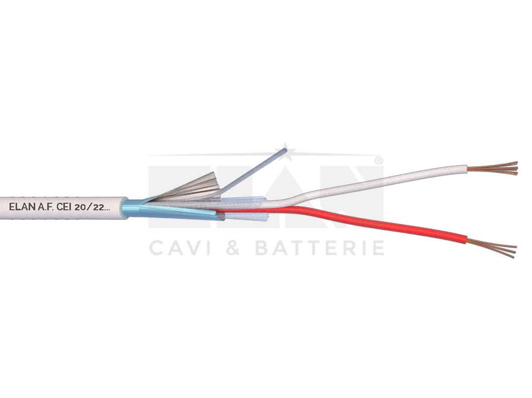 Pvc Shielded Uo 400v Alarm Cables