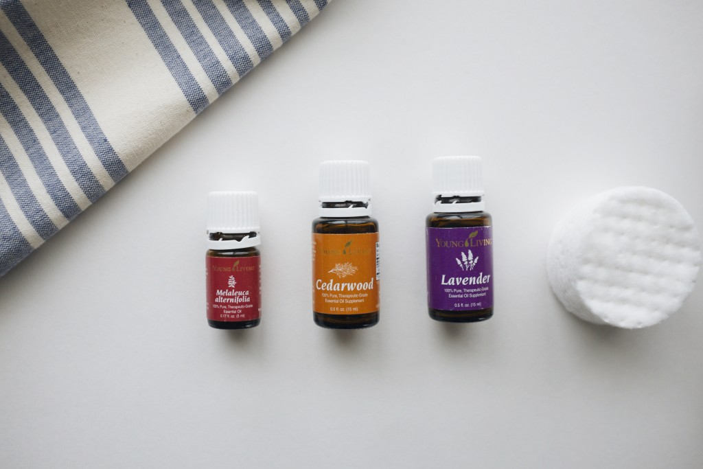 Cedarwood, Lavender & Tea Tree Oil Young Living Essential Oil Facial Toner | Elanaloo.com