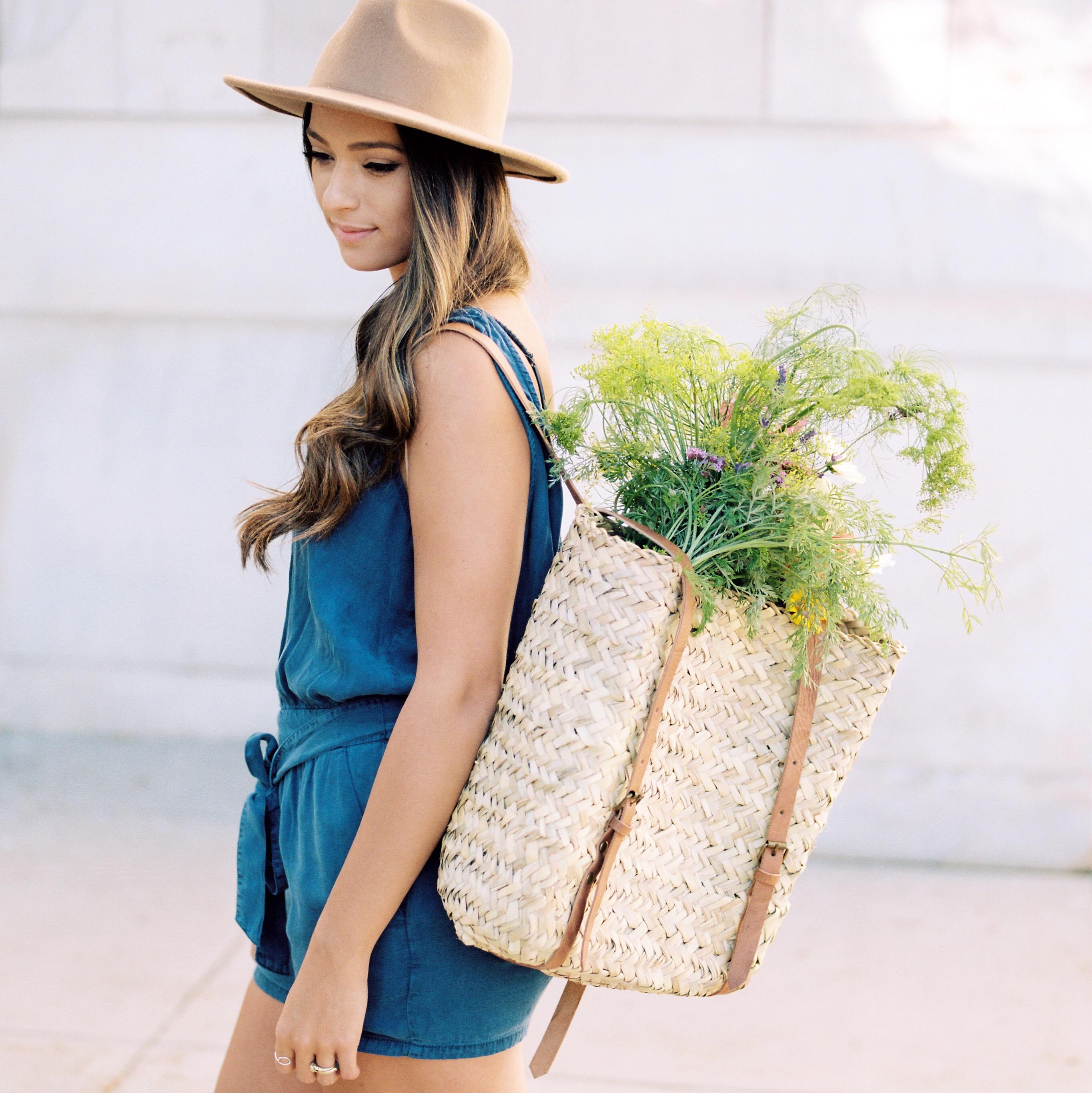 Basket Backpack from MurLifeStyle   elanaloo.com