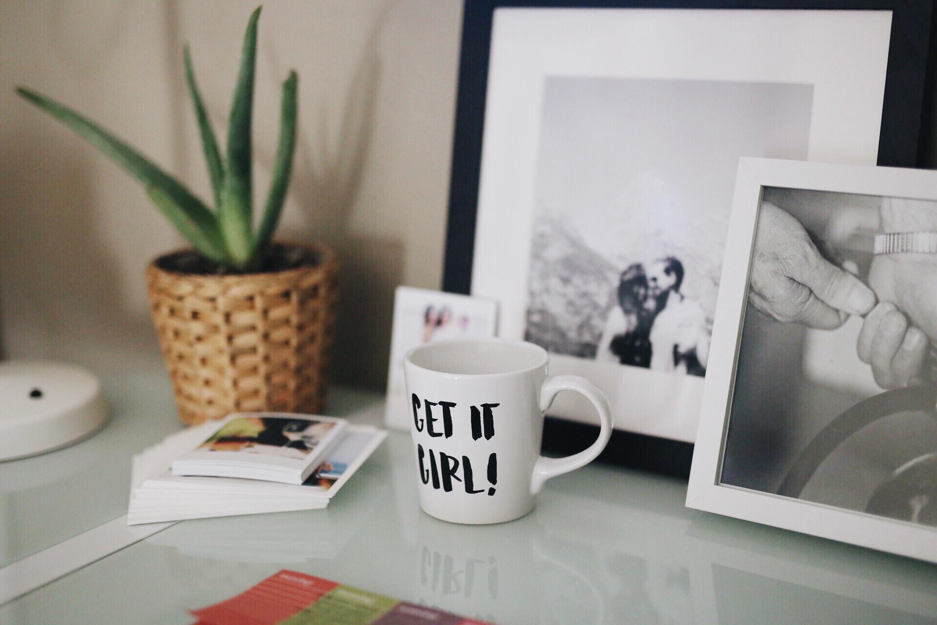 Get It Girl! Mug | Creative Entrepreneur | Office Makeover | elanaloo.com