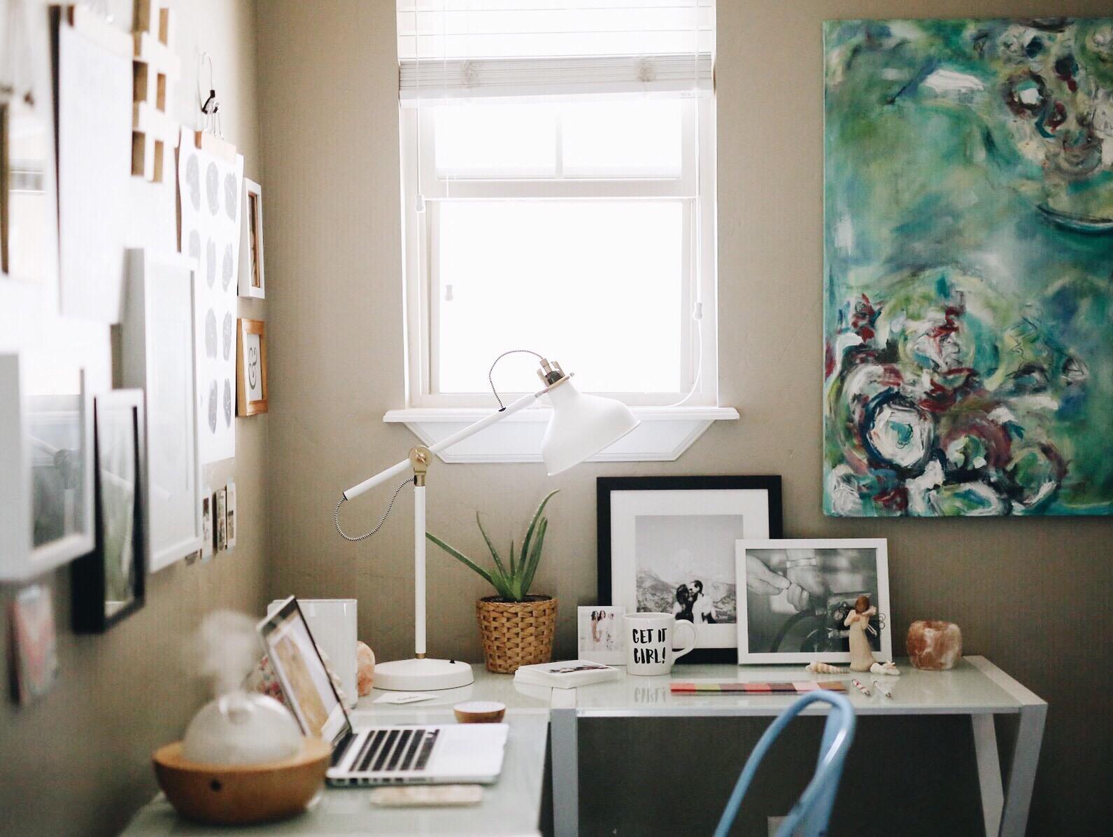 Creative Entrepreneur | Office Makeover | elanaloo.com