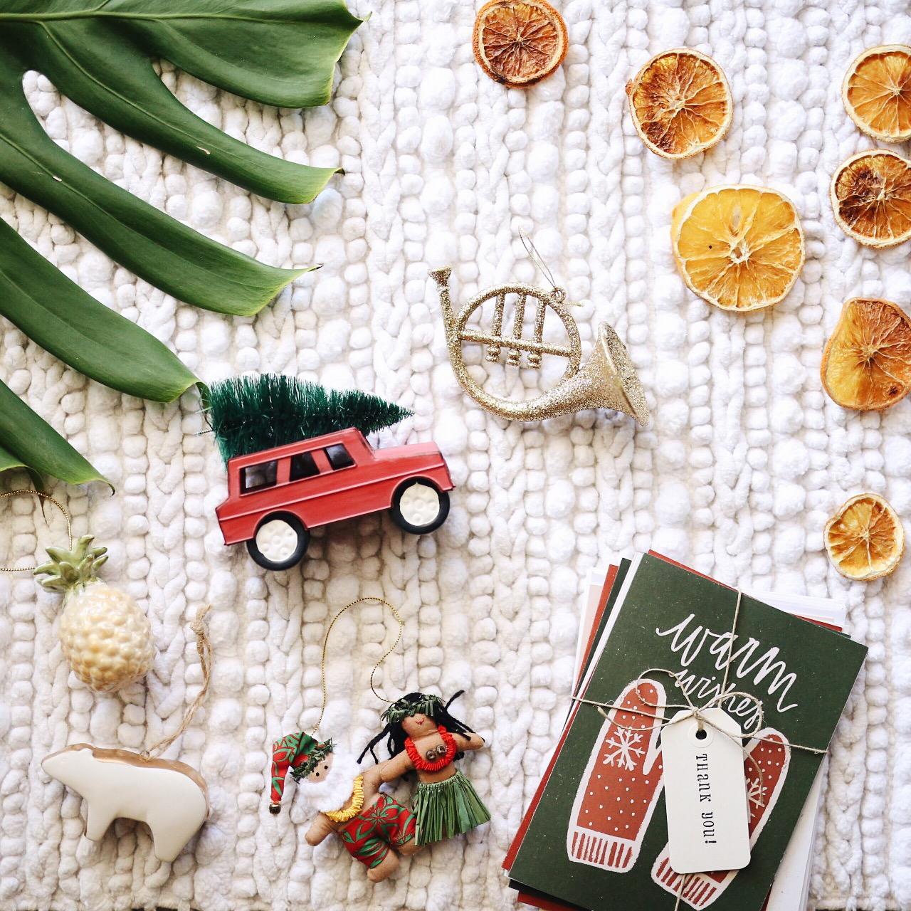 Dried Citrus Ornaments | Vintage Inspired Ornaments | Target Ornaments | elanaloo.com