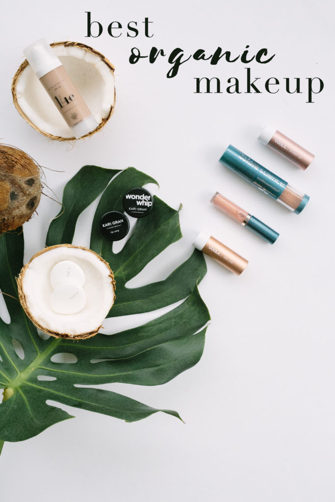 Organic Makeup | Best Organic Makeup | Best Natural Makeup Brands | Organic Makeup | Toxin-Free Makeup Options | via @elanaloo + elanaloo.com