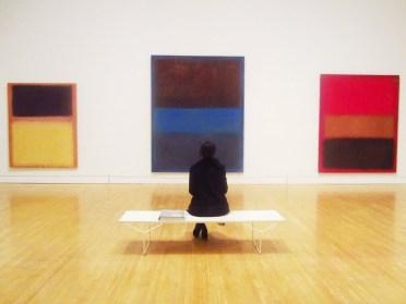 COCOCOZY MOCA Mark Rothko Gallery no 61 rust blue