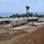 Avanzan los trabajos de construcción Escuela-Taller de Artesanía en el Sur