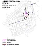 Anuncian cierre parcial de calles lunes y martes para soterrado