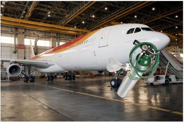 ¿Oxígeno para el A340?