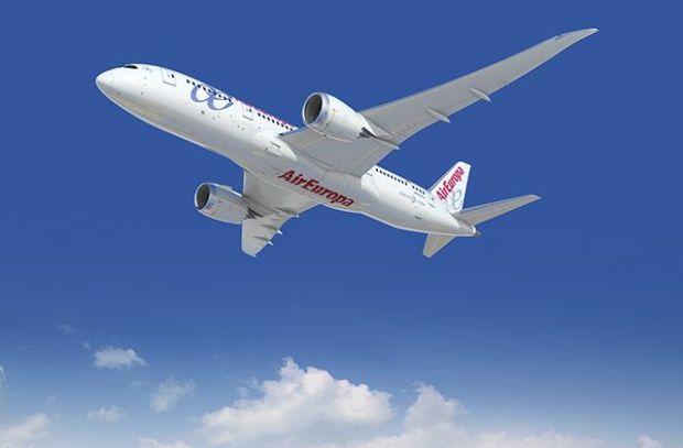 787 de Air Europa. Por Boeing