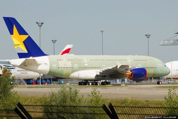 Skymark, uno de los clientes que no pudo volar el A380 (Clément Alloing)