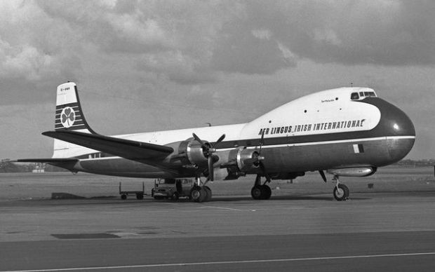 ATL 98 Carvair de Aer Lingus, Richard Goring