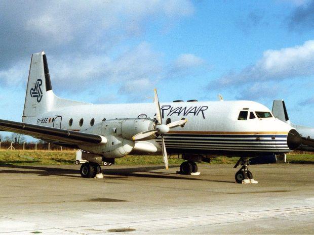 HS748 de Ryanair. Robert Reid
