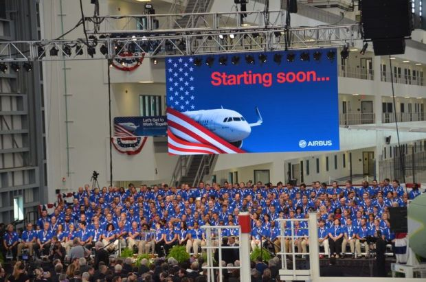 Airbus a la americana (Airbus.com)