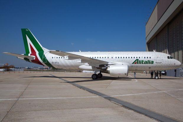 La nueva librea de Alitalia... ¿os suena? (Fabrizio Berni)