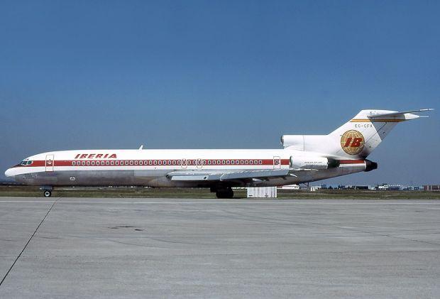 El mítico 727 pintado de IBERIA (Michel Gilliand)