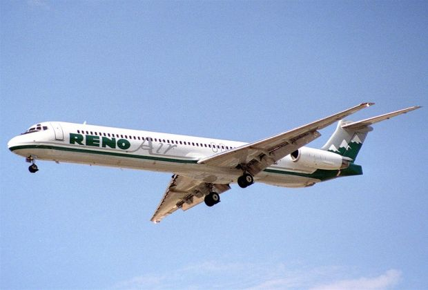 MD-82 de Reno Air (Aero Icarus CC)