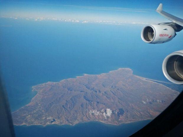 Península de Macanao en la costa de Venezuela, pegada a Isla Margarita (no me hubiese importado aterrizar y quedarme ahí un par de semanas...)