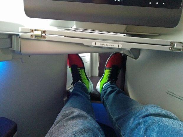 a380 qatar business asiento