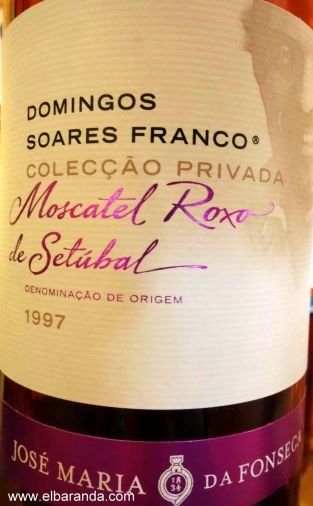 1997. Moscatel Roxo de Setúbal