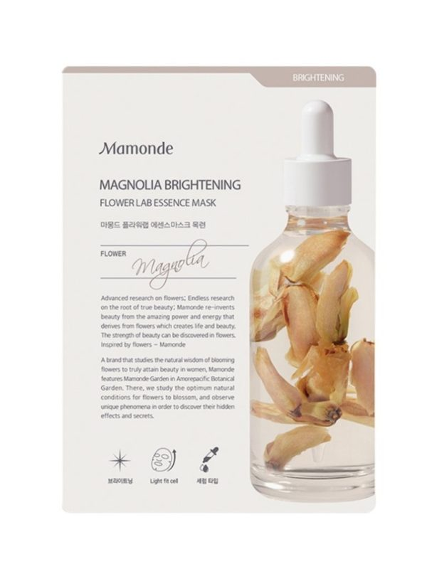 Mamonde Flower lab magnolia sheet mask